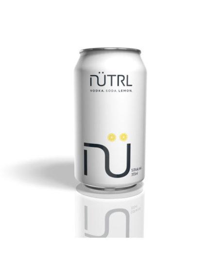 Nutrl Vodka Soda - Lemon 6Pk