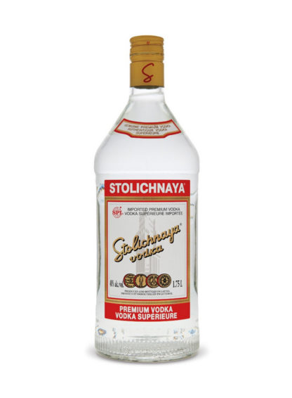 Stolichnaya Premium Vodka 1.75 L