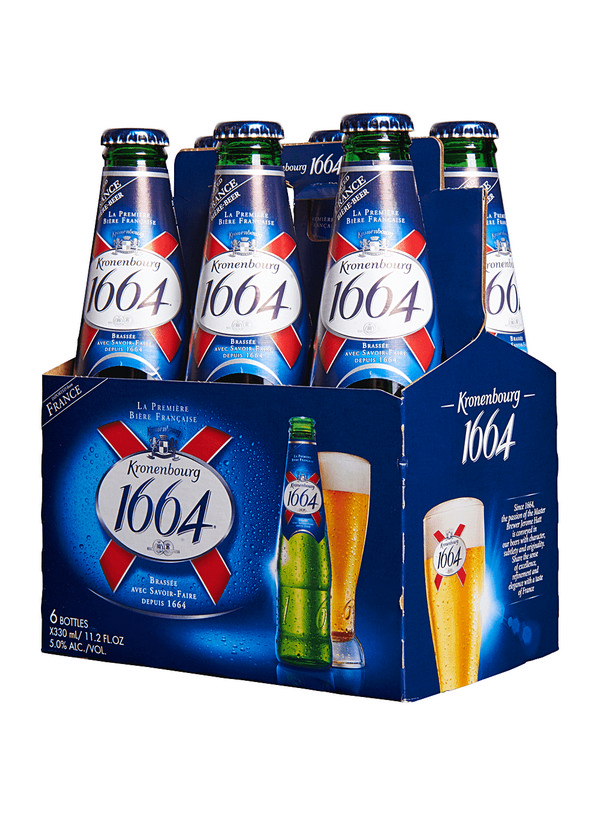 Kronenbourg 1664 Lager (Bottles) - 6 X 330 ml · Whole Cellars