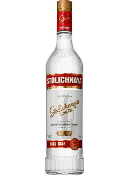 Stolichnaya Premium Vodka 750Ml