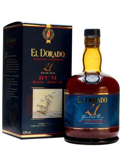 El Dorado 21 Yr. Rum