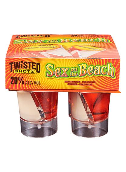 Twisted Shotz Sex On The Beach