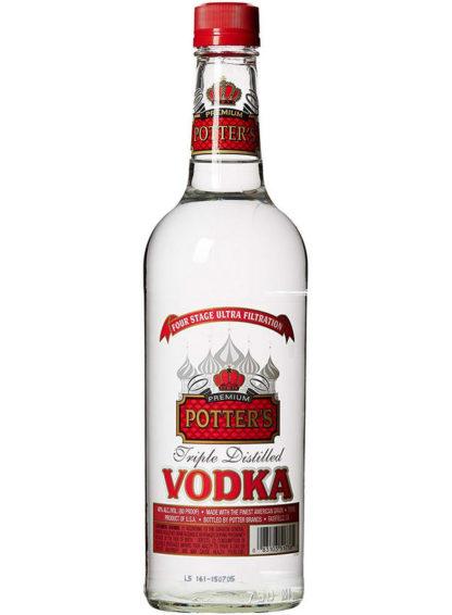 Potters Vodka Pet 18 X 750Ml