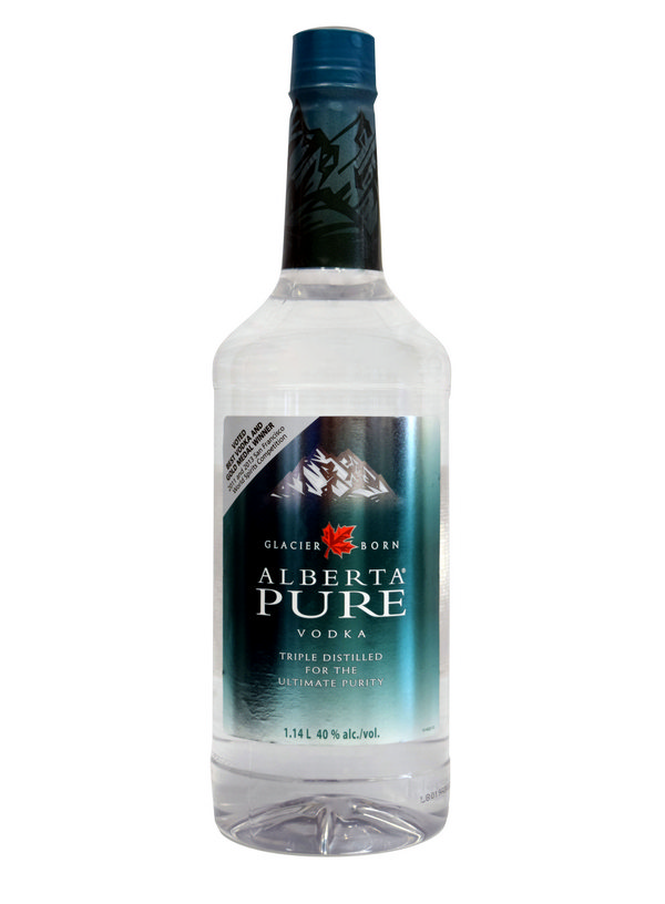 Alberta Pure Vodka Pet