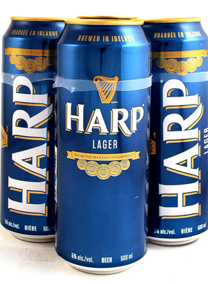 Harp Lager 500 ml Can
