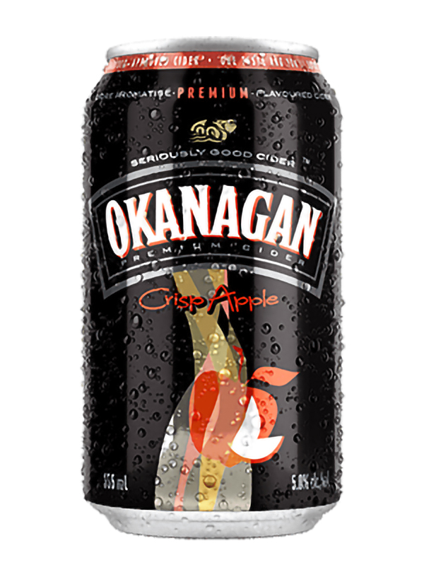 Okanagan Premium Crisp Apple Cider-Cans