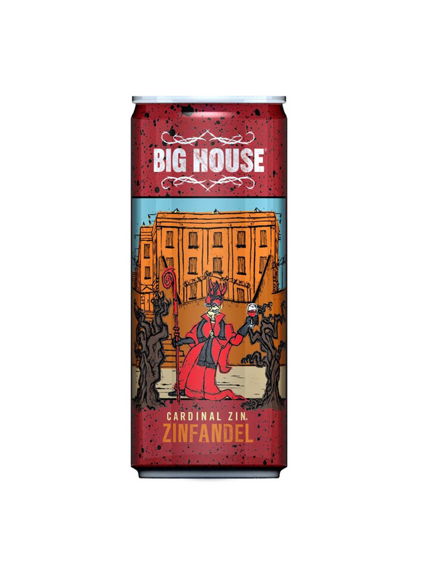 Big House Cardinal Zin In A Can