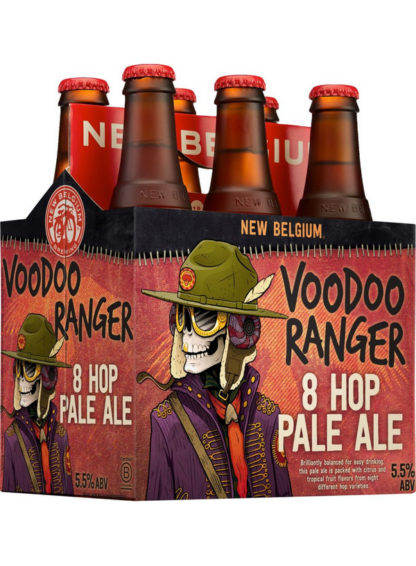 New Belgium Voodoo Ranger 8 Hop Pale Ale