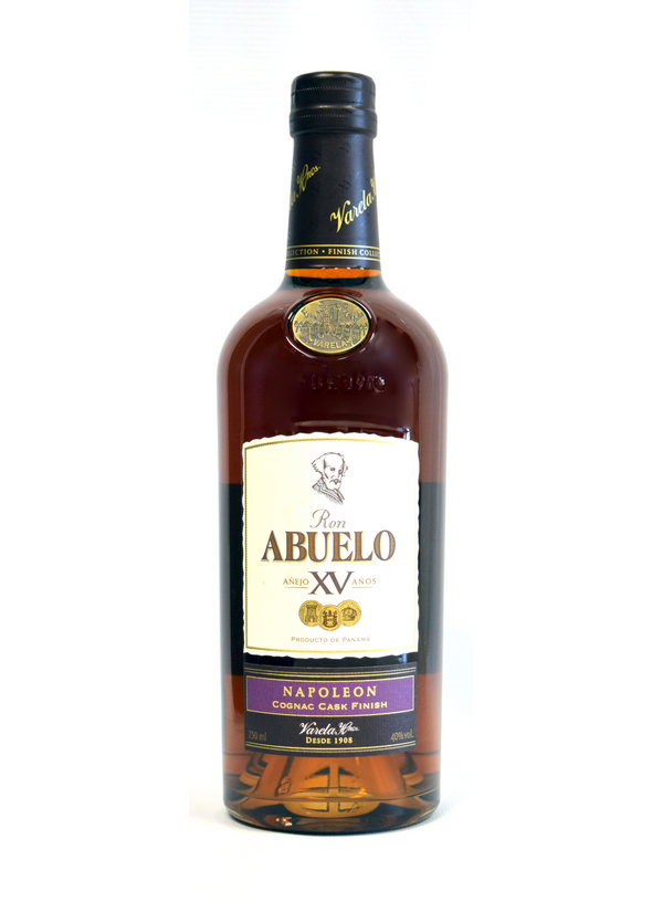 Abuelo Xv Napolean Cognac Cask Finish