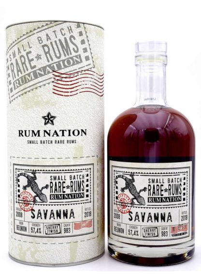 Rum Nation Savanna - Sherry Finish