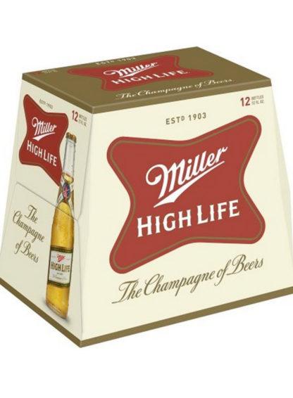 Miller High Life 12 Bottle