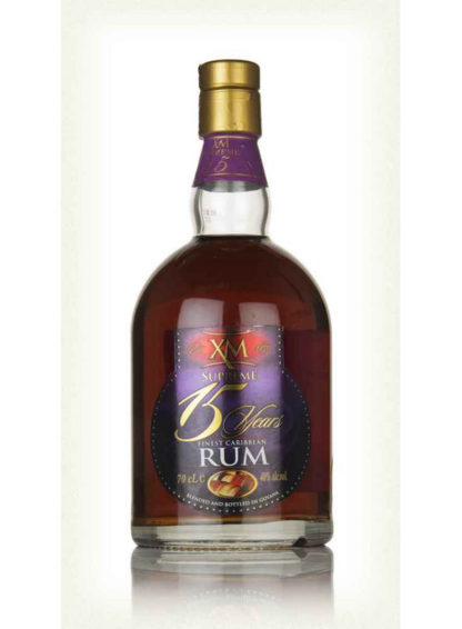 Xm Supreme 15 Year Old Rum