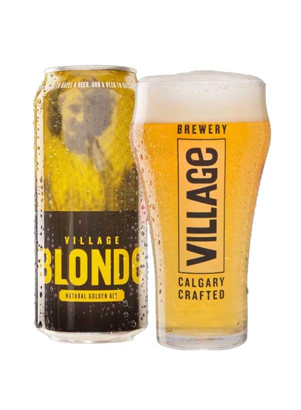 Village Blonde - 4 X 473 ml
