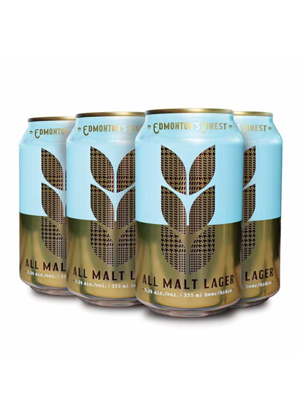 Campio Brewing All Malt Lager - 6 X 355 ml