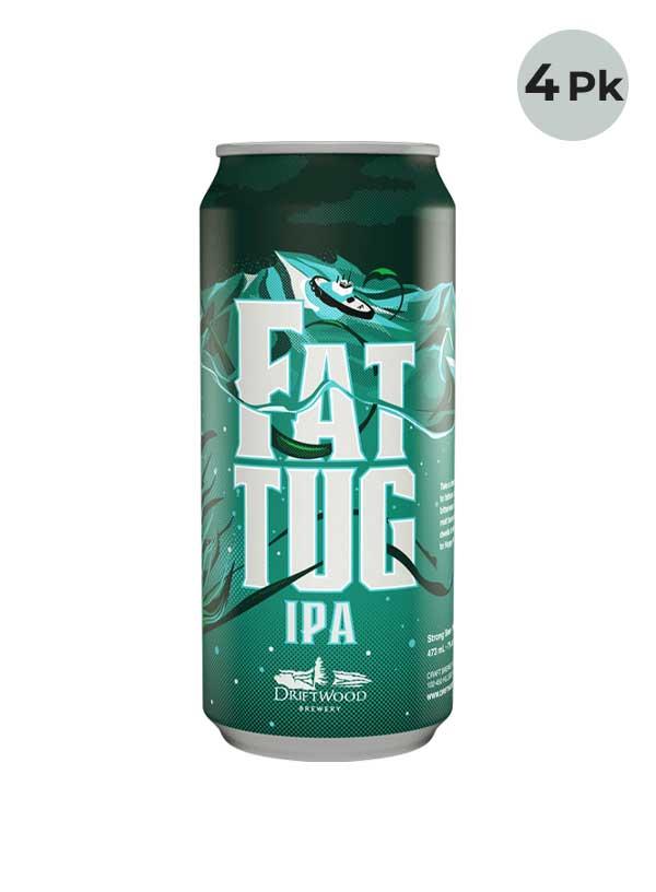 Driftwood Fat Tug IPA - 4 X 473 ml Cans