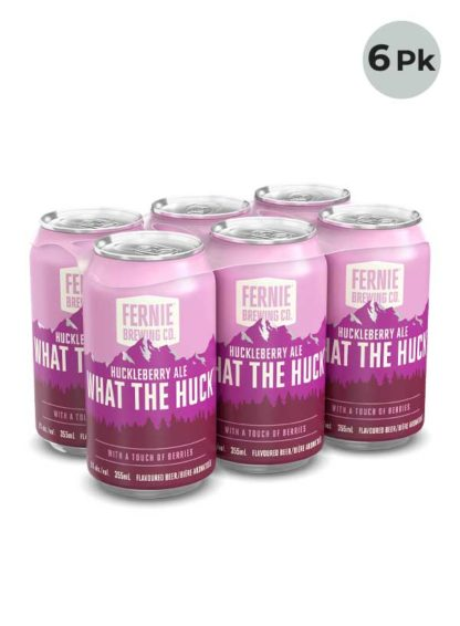Fernie Brew What The Huck Huckleberry - 6 X 355 ml Cans
