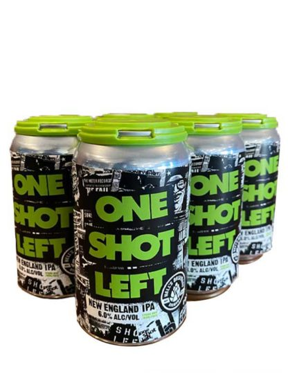One Shot Left Ne IPA - 6 X 355 ml