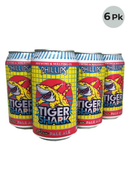 Phillips Tiger Shark - 6 X 355 ml Cans