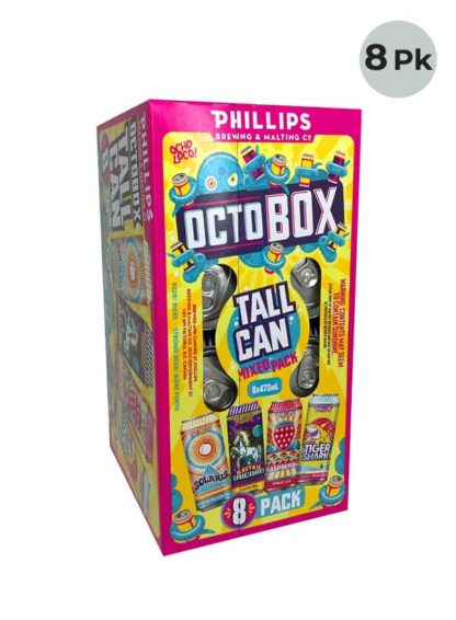 Phillips Octo Mixer Box - 8 X 473 ml