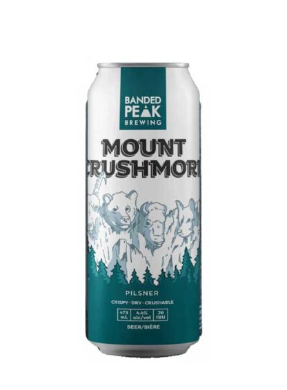 Banded Peak MT. Crushmore?4 X 473 ml