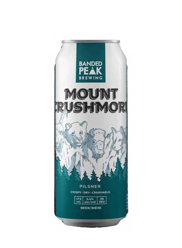 Banded Peak MT. Crushmore?4 X 473 ml