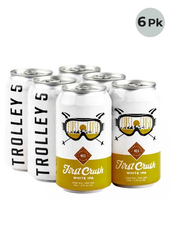 First Crush White IPA - 6 X 355 ml Cans