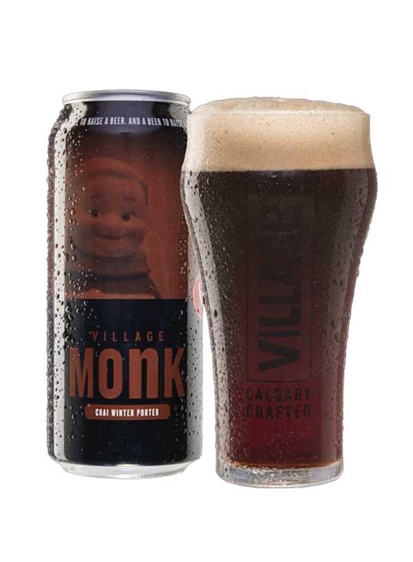 Village Monk - 4 X 473 ml