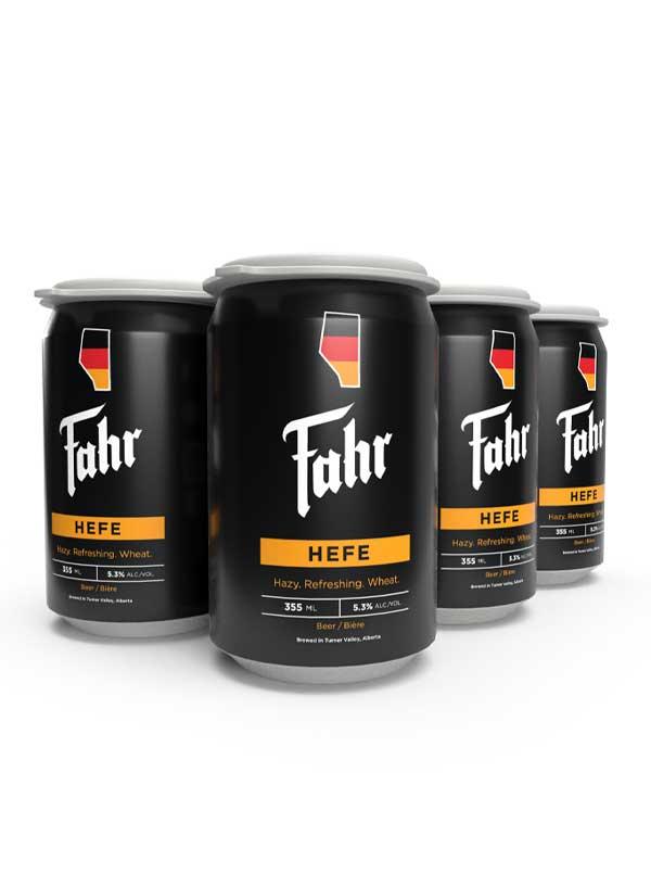 Fahr Hoppy Hefe Cans - 6 X 355 ml