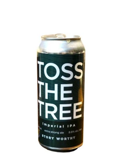 Tool Shed Toss The Tree Imperial IPA - 4 X 473 ml
