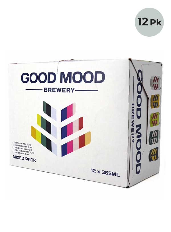Good Mood Brewery Mixed Pack - 12 X 355 ml Cans