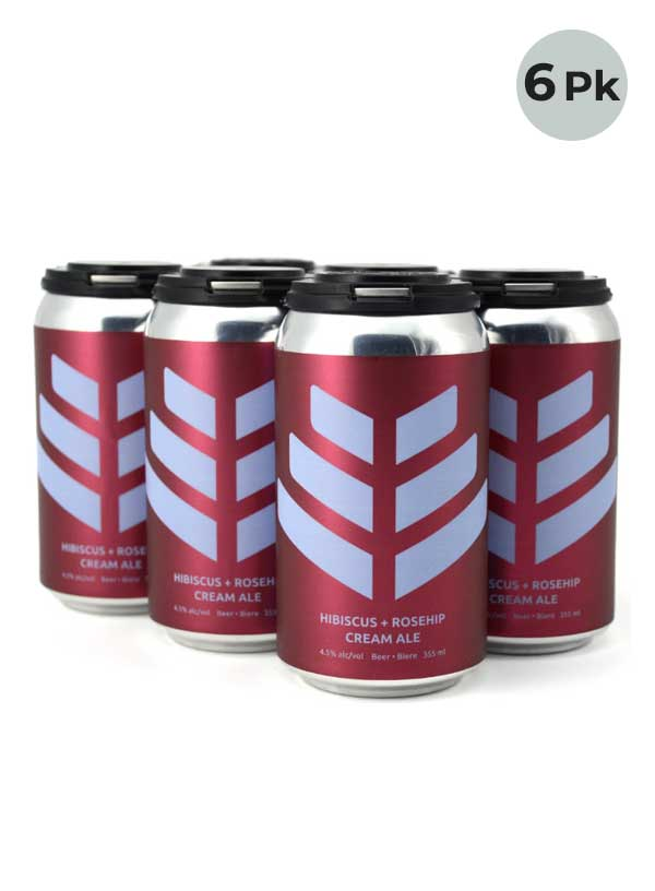 Good Mood Hibiscus Rosehip Cream Ale - 6 X 355 ml