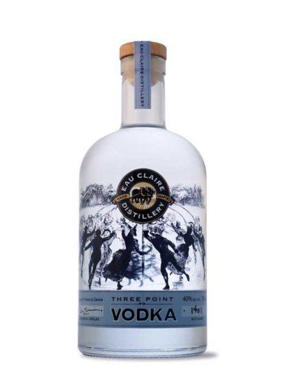 Eau Claire Three Point Vodka - 750 ml