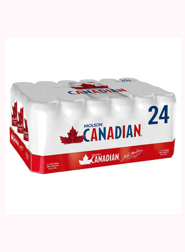 Molson Canadian 24 Pack (500 ml)