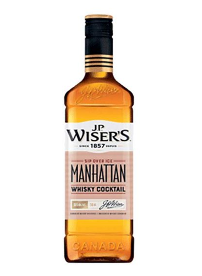 Wiser's Manhattan whiskey